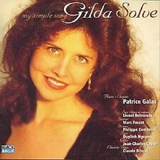 My Simple Song by Gilda Solve (CD, Apr-1997, Black And Blue - France OOP)