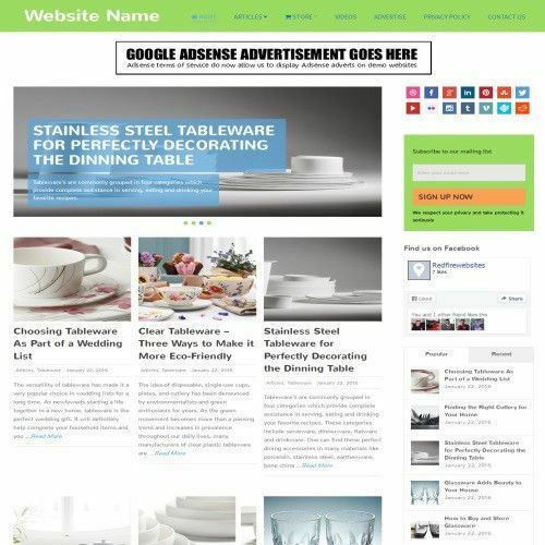 COOKING STORE - Work From Home Online Business Website For Sale + Domain + Host 2