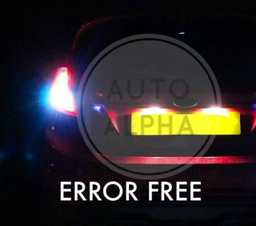 FORD FIESTA MK7 LED XENON BRIGHT REVERSE LIGHT BULBS UPGRADE x2