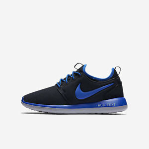 240ab89b11aa 844653-400 Kids  Nike Roshe Two (GS) Running Shoes!! Dark Obsidian ...