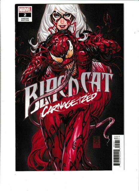 Black Cat #2 Carnage-ized Variant Marvel Comics 2019 NM 9.4