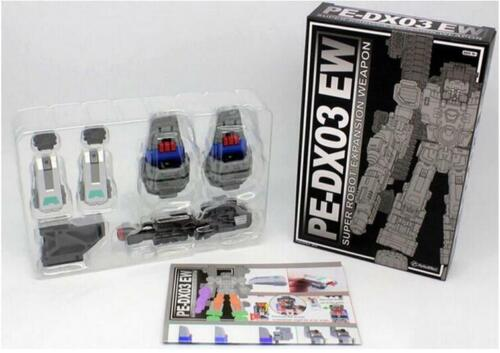 Transformers toy Perfect Effect MOTOBOT PE-DX03 EW Warden Add on Parts