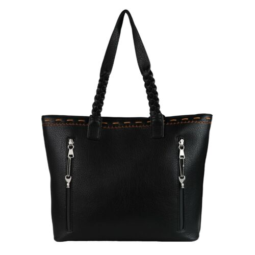 Locking Weapon CCW Purse Concealed Carry Cora Stitched Gun Tote by Lady Conceal