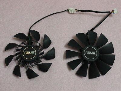 95mm ASUS GTX780 GTX780TI R9 280X 290 290X Dual Fan Replacement 5PIN
