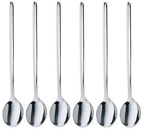 Latte Macchiato 1-12 pièces en inox inoxydable 18//10 Cuillère Longdrink Cuillère