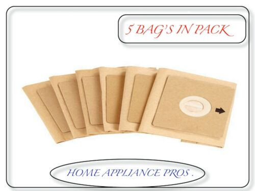 Genuine Bissell Vacuum Bags for Zing Canister Vacuum 5 Pack # 1604531