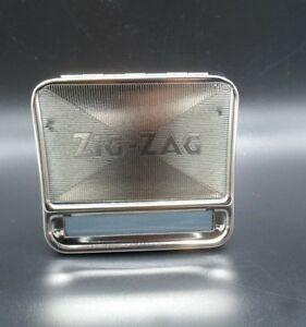 Zig-Zag-Automatic-Cigarette-Tobacco-Smoking-Rolling-Machine-Case-Tin-Box