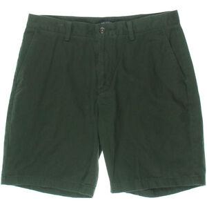 Nautica-Shorts-Classic-Fit-Dark-Everest-Twill-Khaki-Chino-Deck-Size-34-NEW-Mens