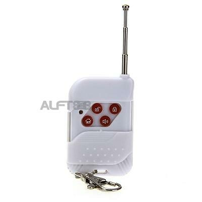 433MHZ Wireless Remote Controller Keyfob for Home Alarm System White