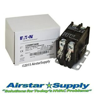 C25BNF240B Eaton / Cutler Hammer Contactor - 40 Amp / 2 Pole / 208-240V Coil