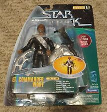 Playmates Toys Star Trek Voyager Warp Factor Series 1 Lt. Commander Worf