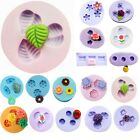 Flower Silicone Mould for Polymer Clay Candy Chocolat Sugarcraft Cake Decorating