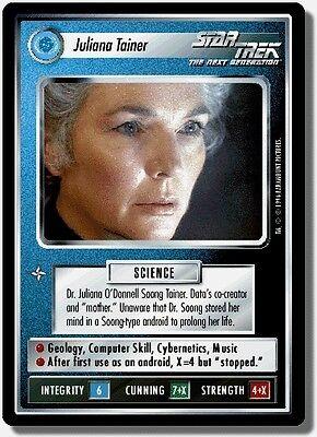 Star Trek CCG QC Q-Continuum Investigate Legend