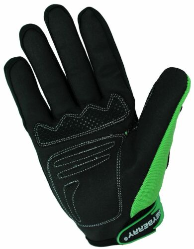 Heyberry Motocross MTB MX Handschuhe schwarz grün Gr S M L XL XXL