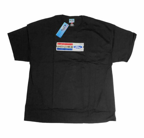 Mustang Shelby GT Powered By Ford Emblem Black Men/'s Tee Shirt T-Shirt 2XL XXL