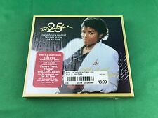 Michael Jackson Thriller 2 Disc 25th Anniversary Edition (SMALL TEAR ON SEALED)