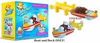 Zhu Zhu Pets Speed Boat And Dock By Cepia Sealed (no Hamsters) Add On Set