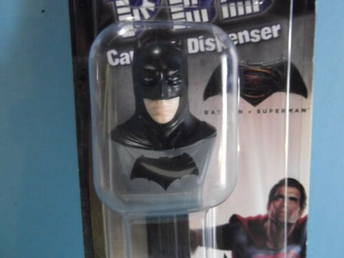 "DC Comics Batman Pez Dispenser 5""in Tall wCandy ""Package Squished"""