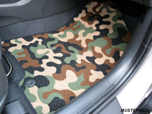 Ejército-tarnungs coche alfombra coche tapices auto-esteras citroen c4 cactus a partir de 2013