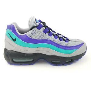 promo code f3a59 a706f Details about Nike Air Max 95 OG Black Indigo Burst Grape AQUA (AT2865-001)  Womens Size 8