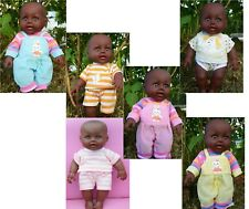 """Afro African Black Interactive Doll 12"""" Lovely Jason Boy Doll + Clothes 30cm"""