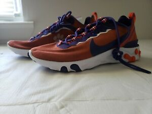 Clemson-Tigers-Nike-React-Element-55-Shoes-Mens-Size-11