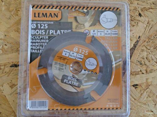 Disque Bois Meuleuse 125mm  Disque a Sculpter Bois pour Meuleuse d/'angle 125mm