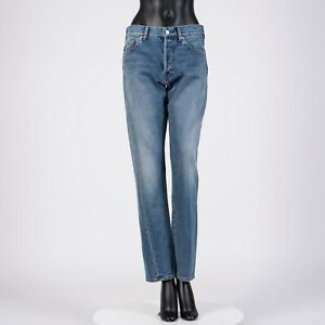 BALENCIAGA-695-Tapered-Twisted-Leg-Japanese-Denim-Jeans