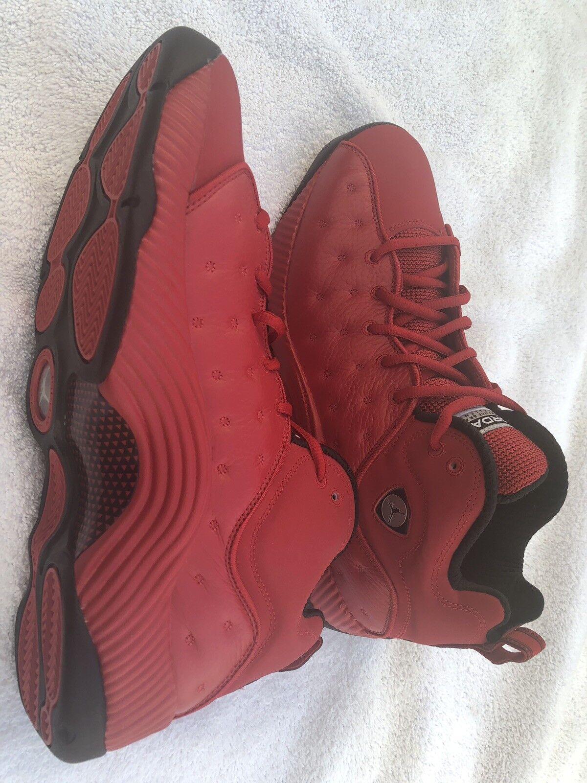 Nike air jordan bei ii jumpman team ii bei sneaker studio ROT 819175-602 größe. 24ebde