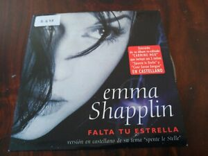 Rare Promo Cd Single Emma Shapplin Falta Tu Estrella Spente Le Stelle Spain Ebay