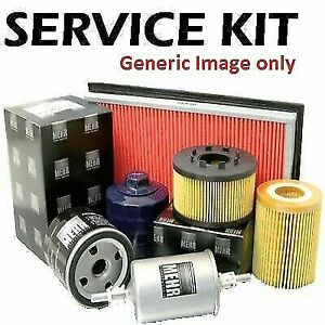 Fits VW Polo 1.2 12v 65bhp Petrol 02-07 Plugs,Cabin,Air & Oil Filter Service Kit