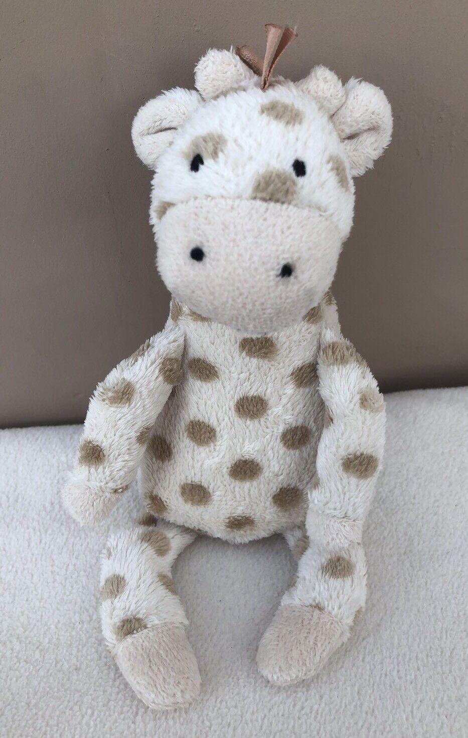 Jellycat Georgie Giraffe Soother Comforter Doudou Baby Soft Comfort Squeak Toy
