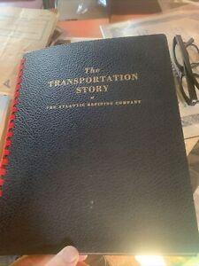1951 VINTAGE ARCO - ATLANTIC RICHFIELD GAS, OIL Transportation Report History