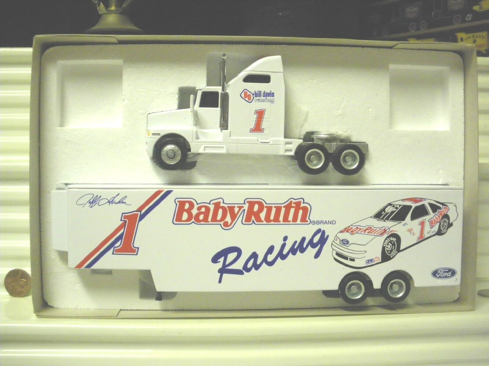 Années 1990 PEACH STATE Collectibles 1 64 Scale Transporteur camions Comme neuf in Comme neuf BOX