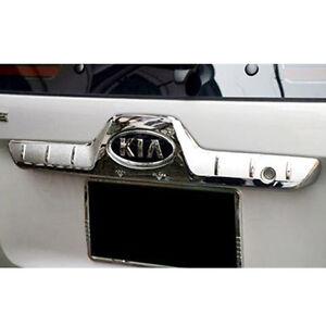 OEM Parts Chrome Front Hood Bonnet Garnish Molding For KIA 2005-2010 Sportage