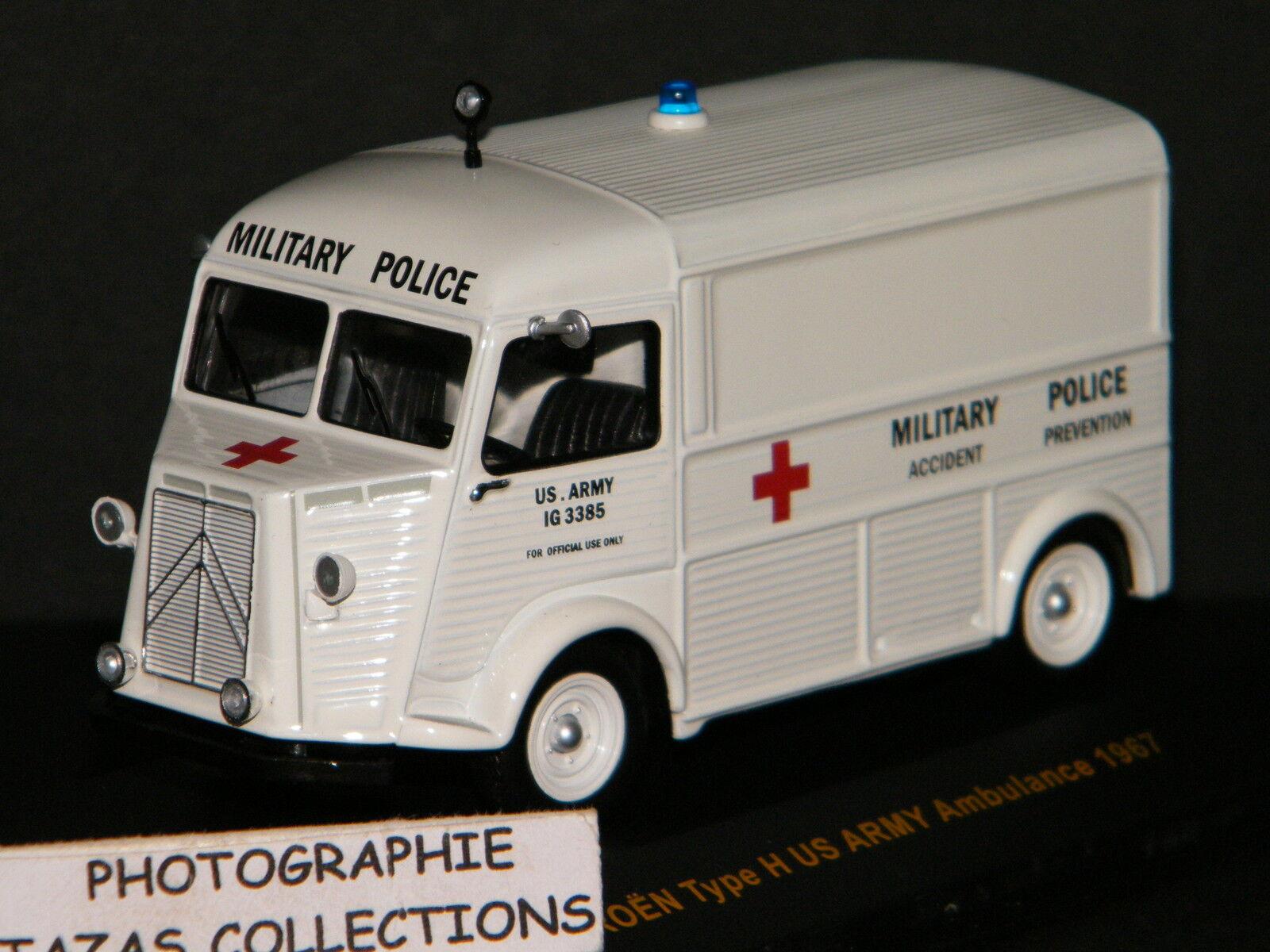 CITROEN Type H US ARMY Ambulance 1967 - IXO CLC211 1 43è