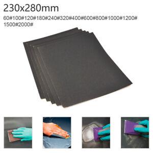 Nassschleifpapier-230-x-280mm-Wasserfest-Handschleifpapier-Nasschleifpapier-Set
