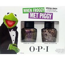 OPI Muppets Most Wanted Collection 2 Bottle Nail Polish Set When Froggy MET Piggy Duo