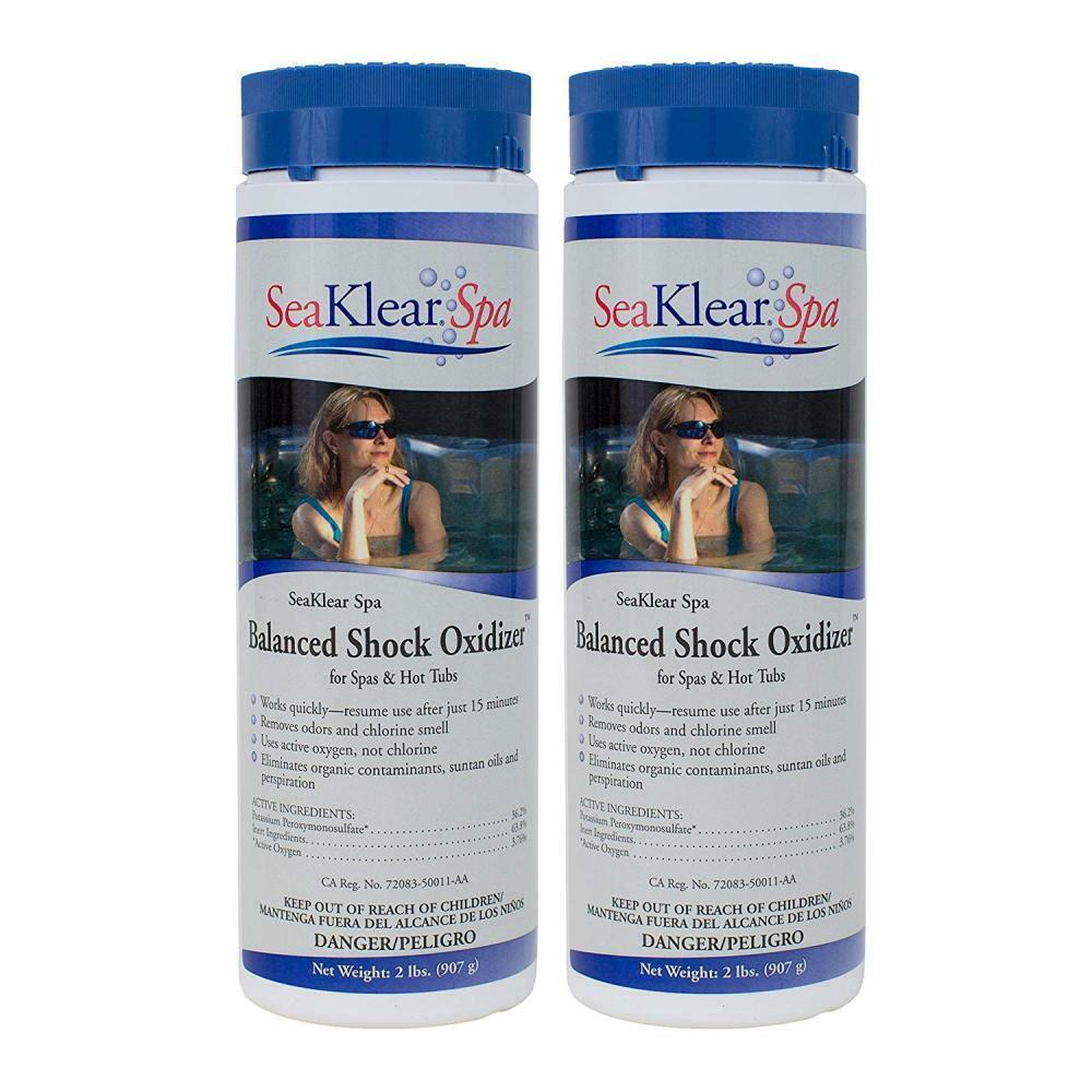 SeaKlear Spa equilibrado choque oxidante (2 lb) Pack)