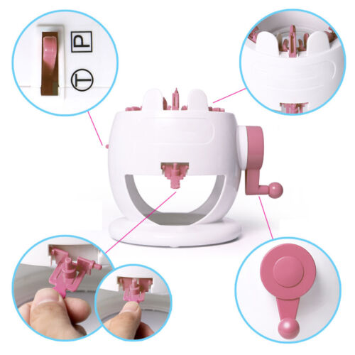 Needle Hand Knitting Machine Weaving Loom for Scraf Hat Kids Learning Toy DIY