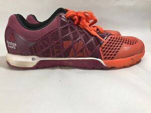 ba172a63ecda84 Reebok Crossfit CF74 Nano 4.0 Women s Size US 9.5 Shoes Orange ...