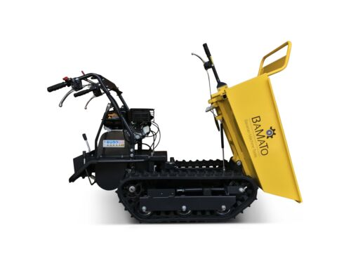 BAMATO Mini Raupendumper MTR-300G Dumper Schubkarre Motorschubkarre