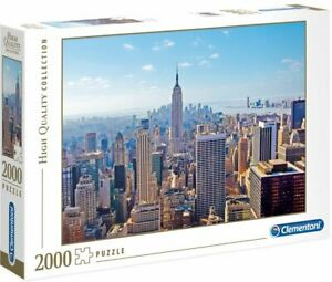 2000 Pieces Jigsaw Puzzle Clementoni High Quality Collection New York