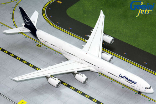 "Gemini Jets 1:200 Lufthansa A340-600 /""New Colors/"" D-AIHI G2DLH797 IN STOCK"