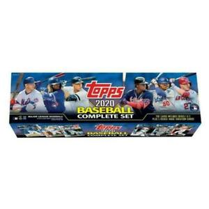 Topps 2020 Baseball Factory Set Retail Box