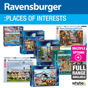 Ravensburger-Lugares-de-Interes-Adulto-Rompecabezas-37-Disenos-Para-Elegir