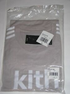 de993b20be3 Kith x adidas Soccer Flamingos Away Logo Tee Shirt Grey White Men s ...