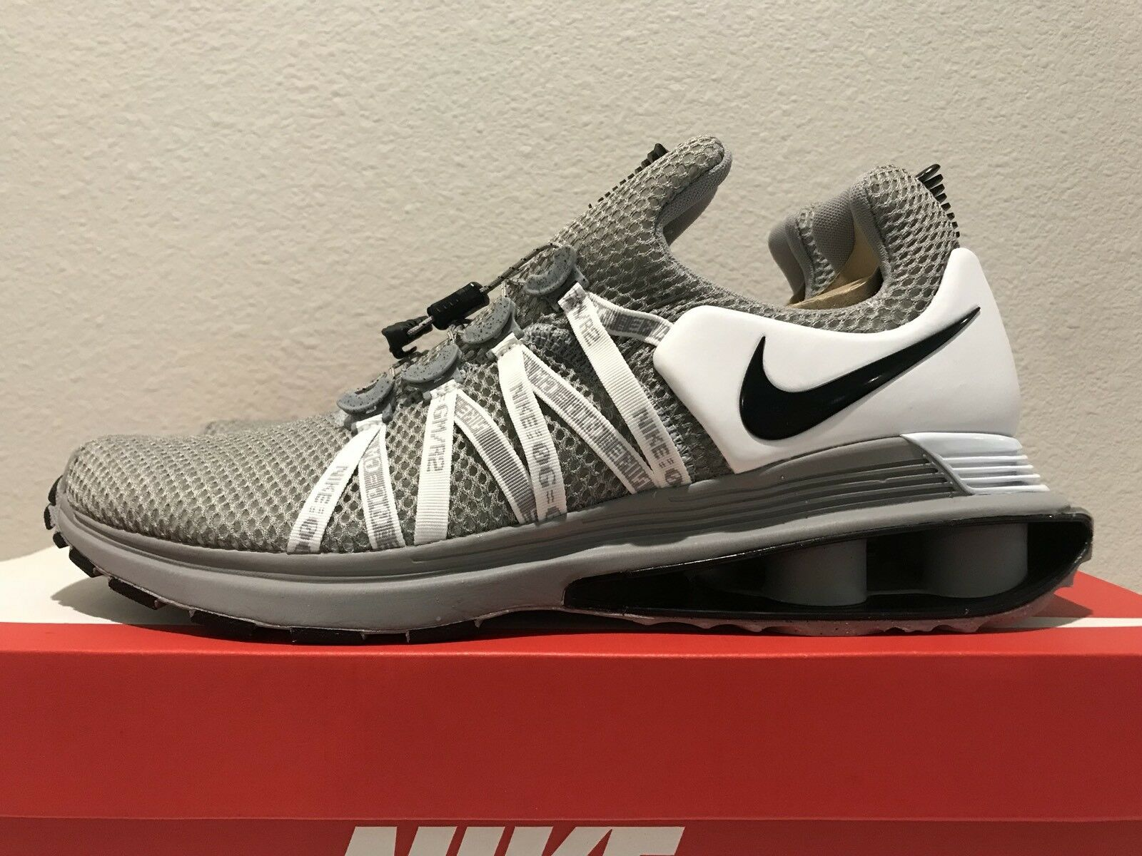 MEN'S NIKE SHOX GRAVITY RUNNING SHOES  NWB AR1999 010 Comfortable The latest discount shoes for men and women