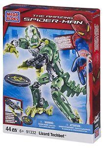 Uni Mega Bloks 91332 Cap Lizard Techbot Lézard The Amazing Spiderman