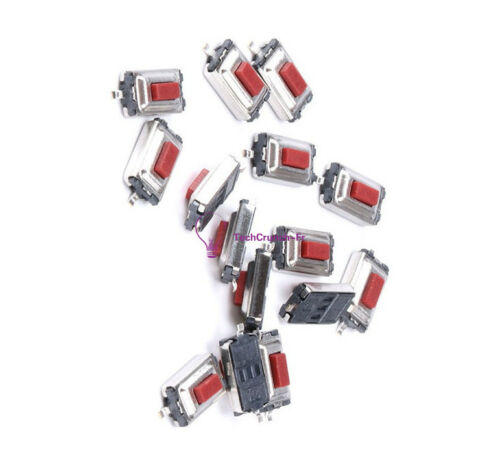 100pcs 2 Pin SMD 3X6X2.5mm Tactile Push Button Switch Tact Switch Micro Switch R